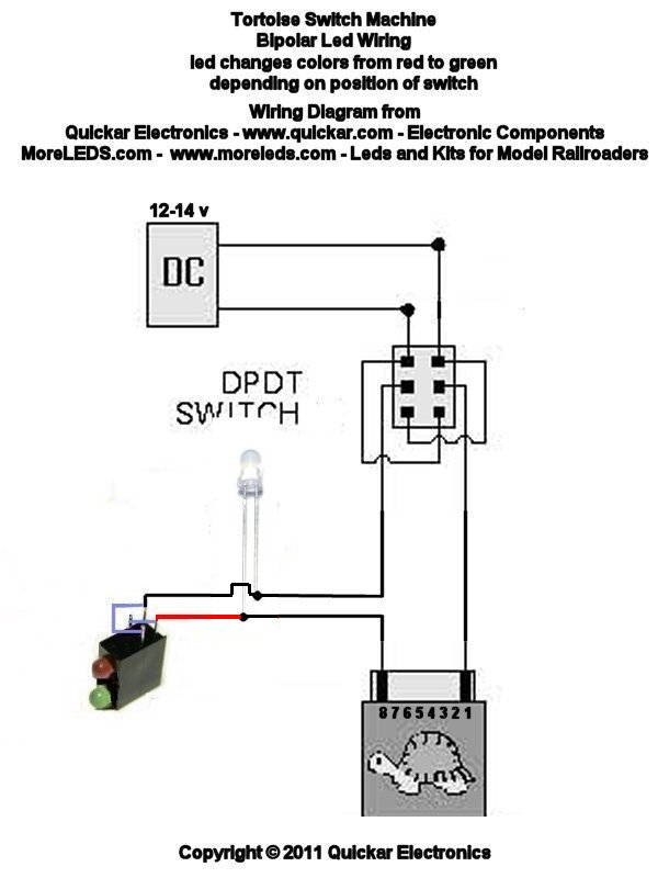 WIRING DIAGRAMS FOR MODEL RAILROADS - HOW TO HOOK UP LEDS - choosing ...