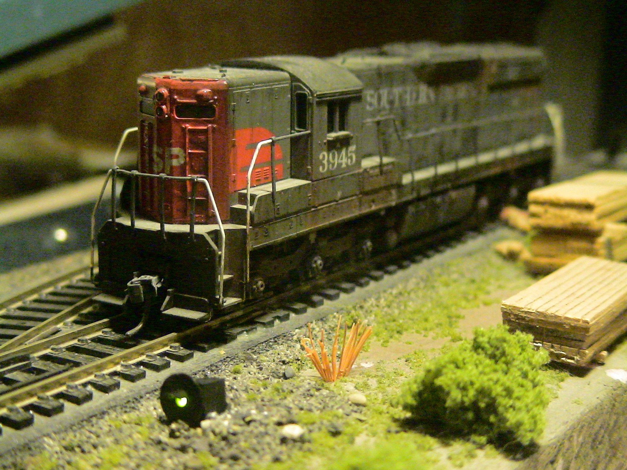 Leds And Kits For Ho Scale Model Railroads Railroad Flashing Light Circuit 1 Singloe Reen Target