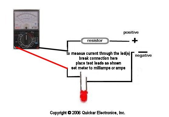 quickar electronics how to hook up leds choosing the correct wiring scheme the proper current